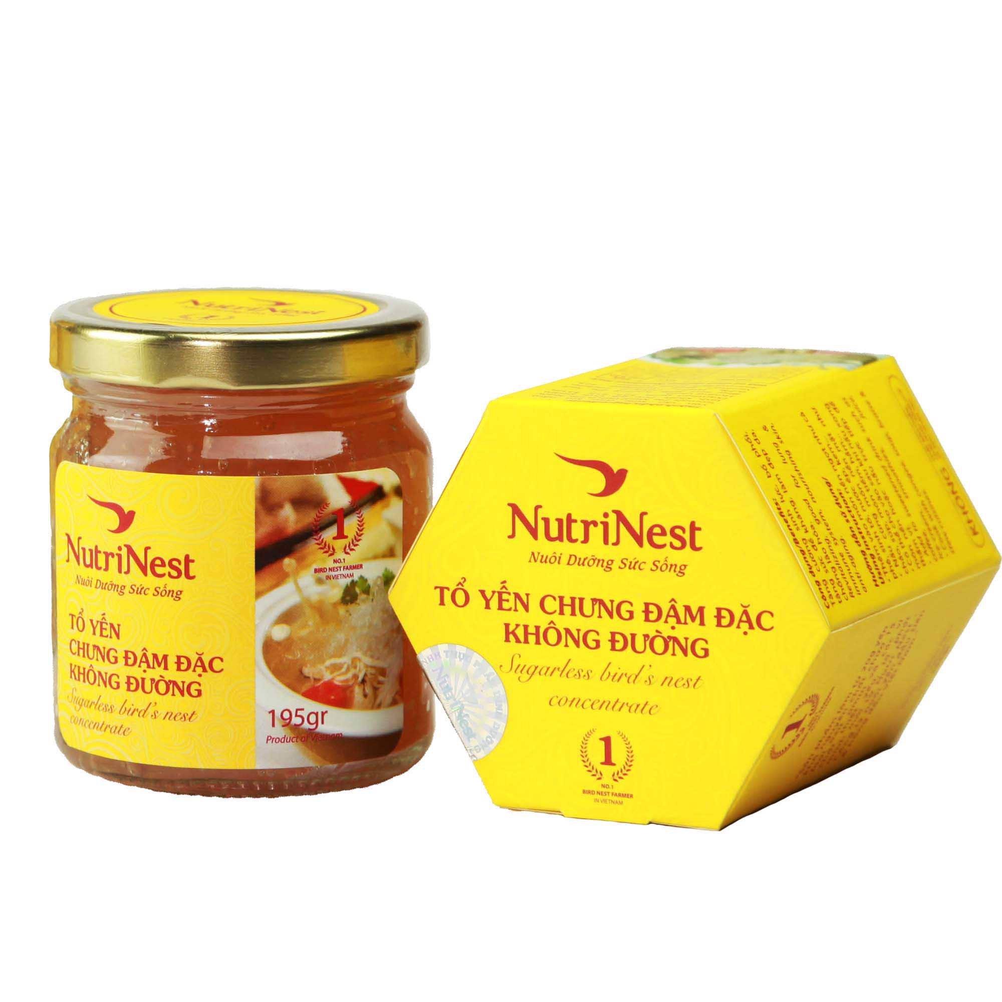 Nguyên Liệu Nấu Ăn Yến Sào Chưng Đậm Đặc Không Đường - Sugarless – YẾN SÀO  NUTRINEST
